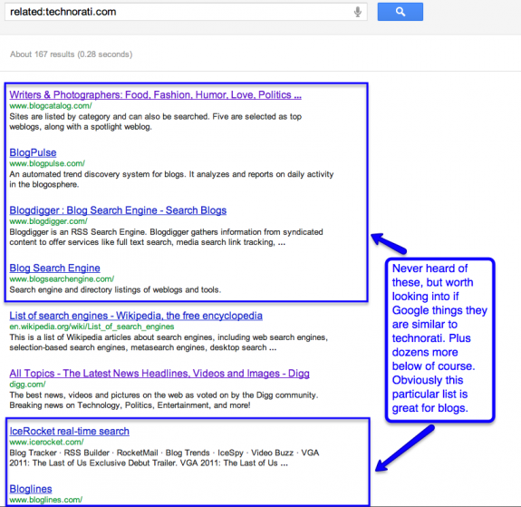 technorati-related-search-screenshot