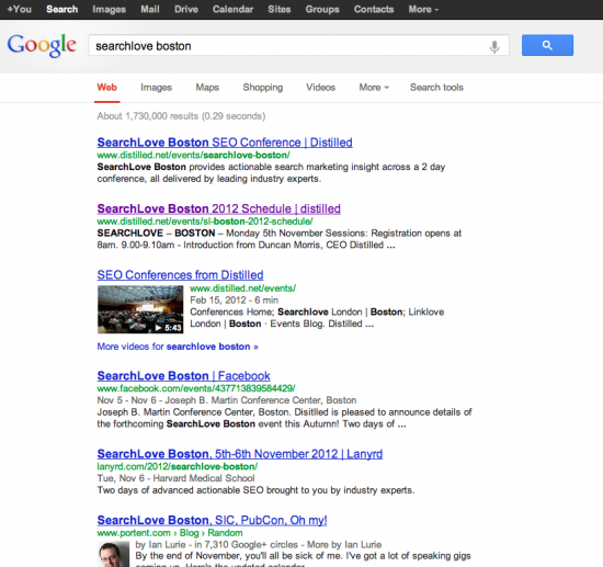 Google New SERP Design