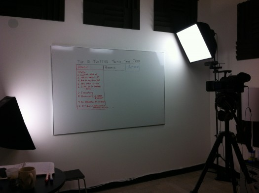 getting ready for whiteboard friday