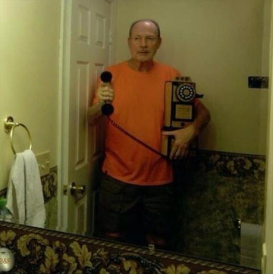 Selfies have gotten a little out of hand