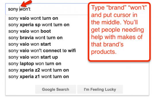 google autosuggest hack